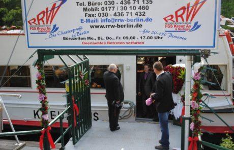 Reederei Wolff - Schiffahrten in Berlin - Gastronomie - Impressionen